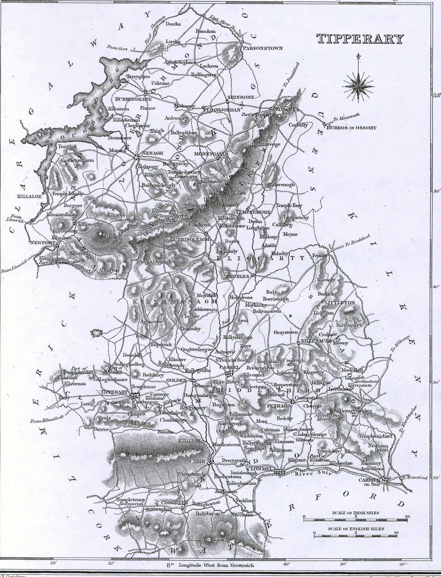 1837 map of tipperaryCR