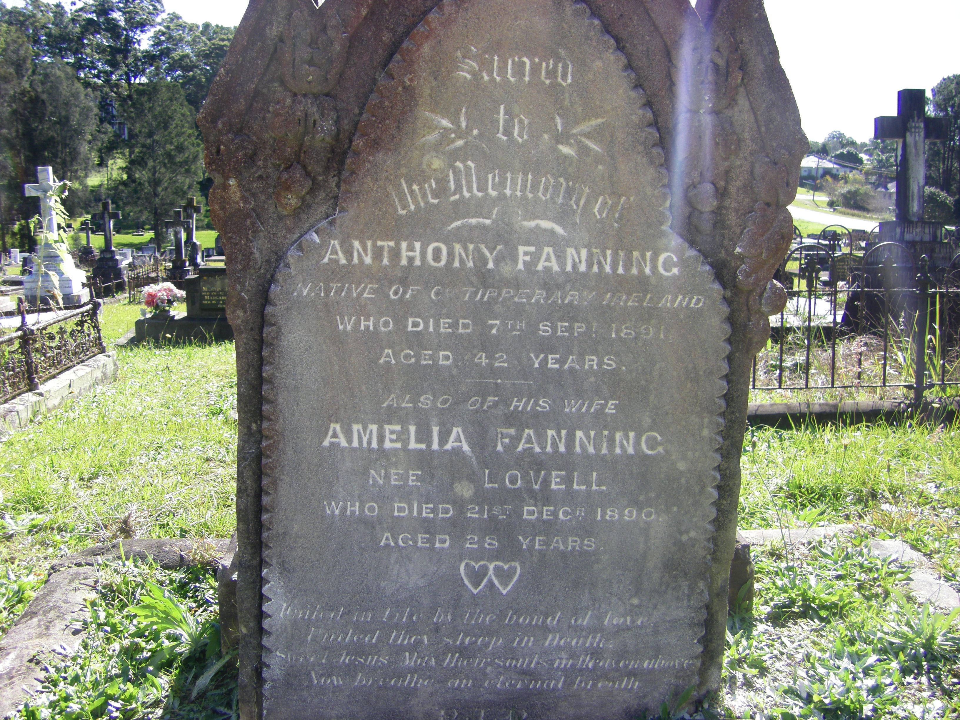 Anthony Fanning & Amelia Lovell