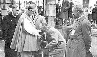 Archbishop O'Donnell in Fethard Co Tipperary 1954