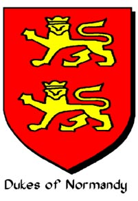 Arms of the Duke of Normandy