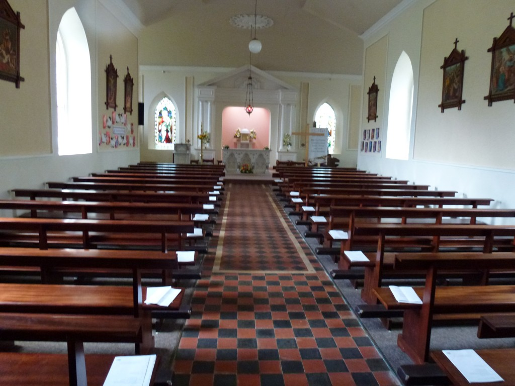 Inch Catholic Church Interior