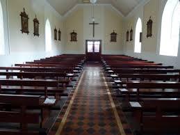 Inch Catholic Church looking towards back