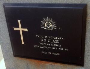 Bernard F Glass