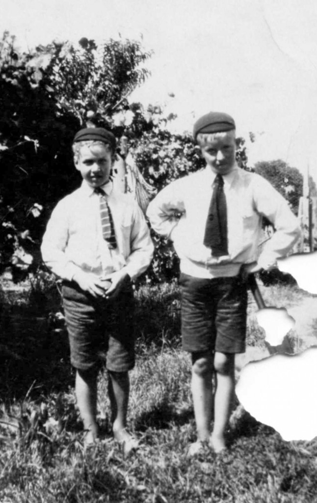 Bernard & Joe Glass 1929