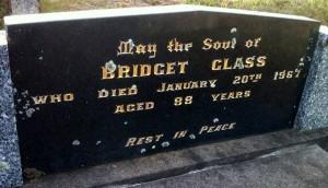 Bridget Glass nee Seymour