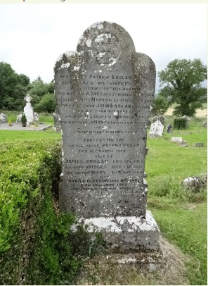 Brolan Grave at the Old Inch Cemetery