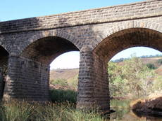 Bulla Bridge over Deep Creek built 1869
