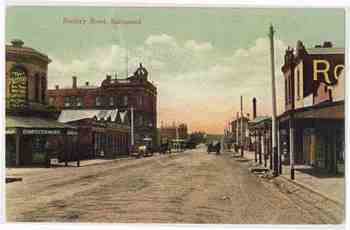 Burnley Rd Richmond 1905