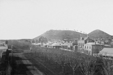 Camperdown Mt. Leura and Mt. Sugarloaf, c1890
