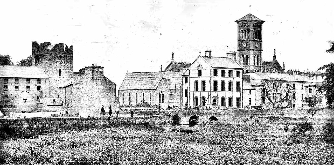 Castle and Cathedral Thurles Co Tipperary