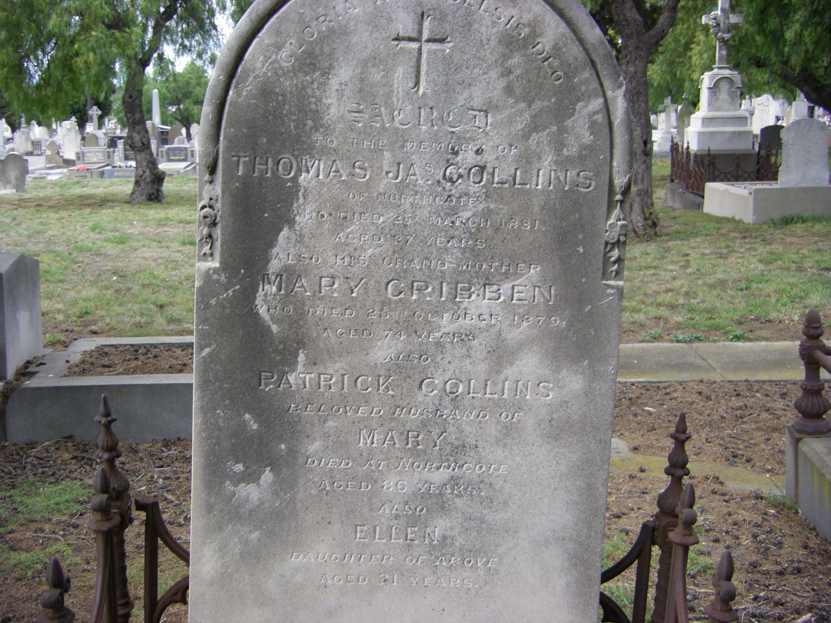 Collins Melb Gen Cemetery