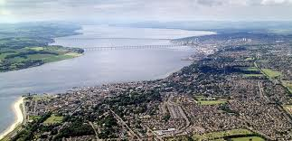 Dundee an aerial view