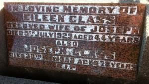 Eileen Glass nee Mackey and Joseph Glass