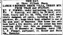 Frank Fanning The Argus 9 Feb 1924 House Sale 1