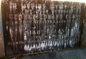 G E Glass 1943 and Mary Glass Yackandandah Cemetery