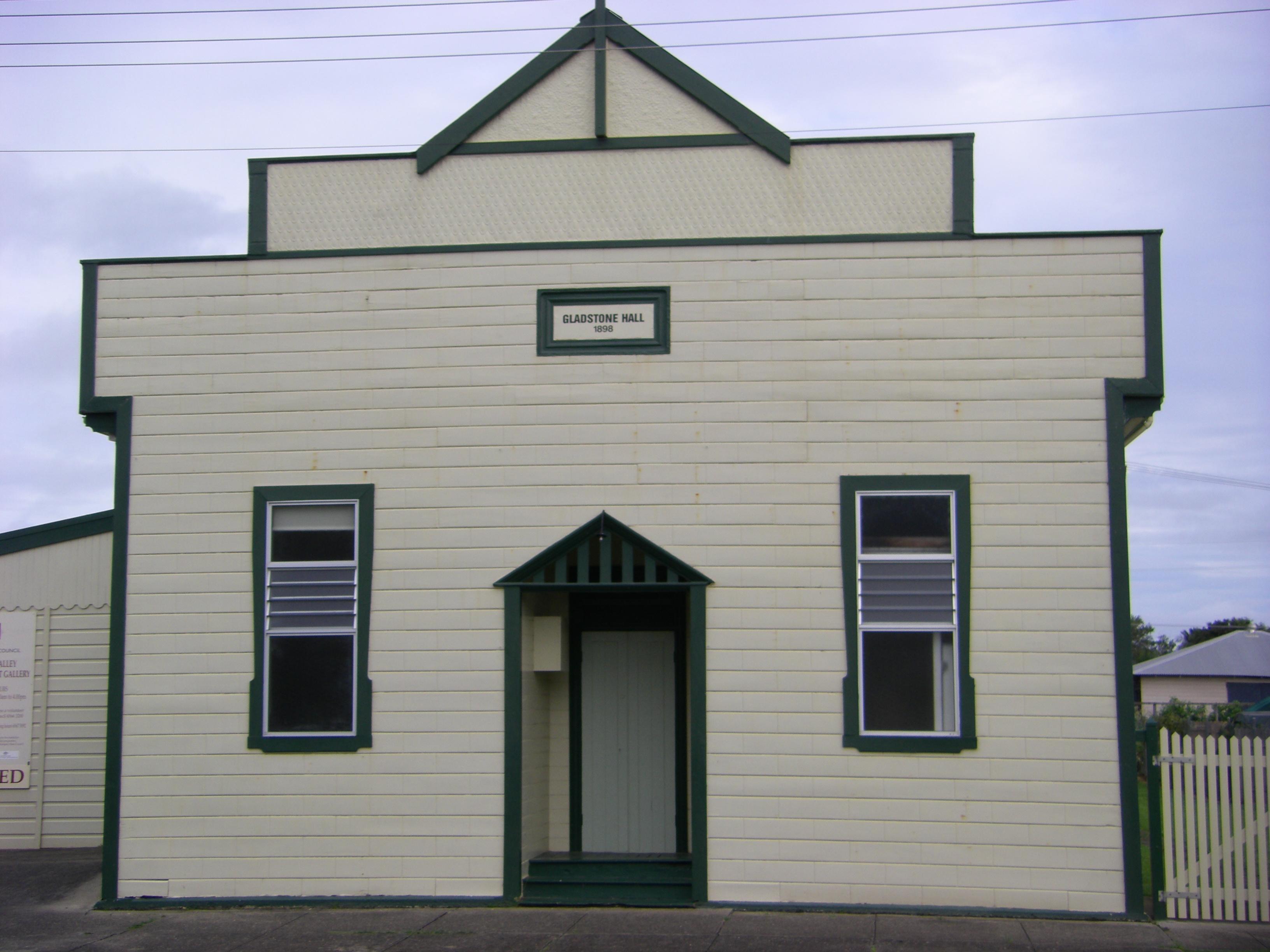 Gladstone Hall NSW 1898