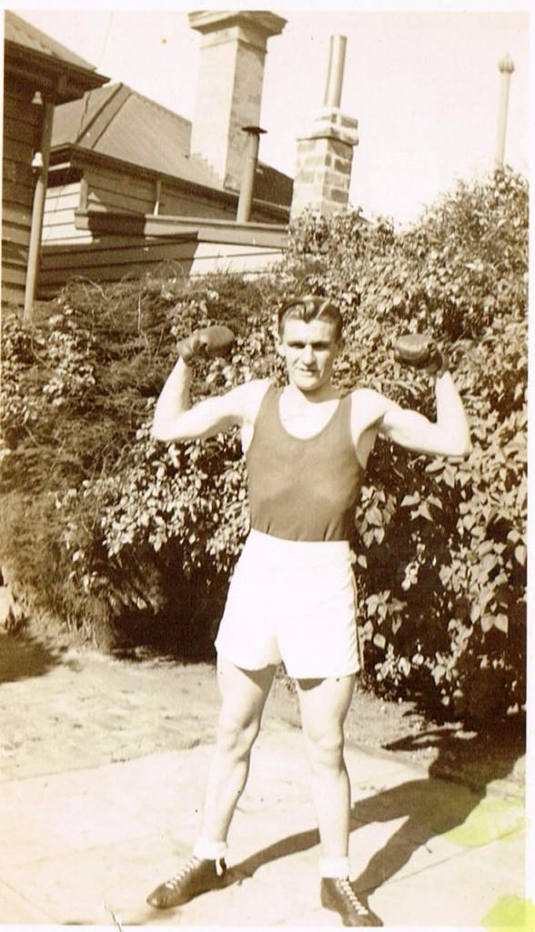 Harry Miller Boxing gloves