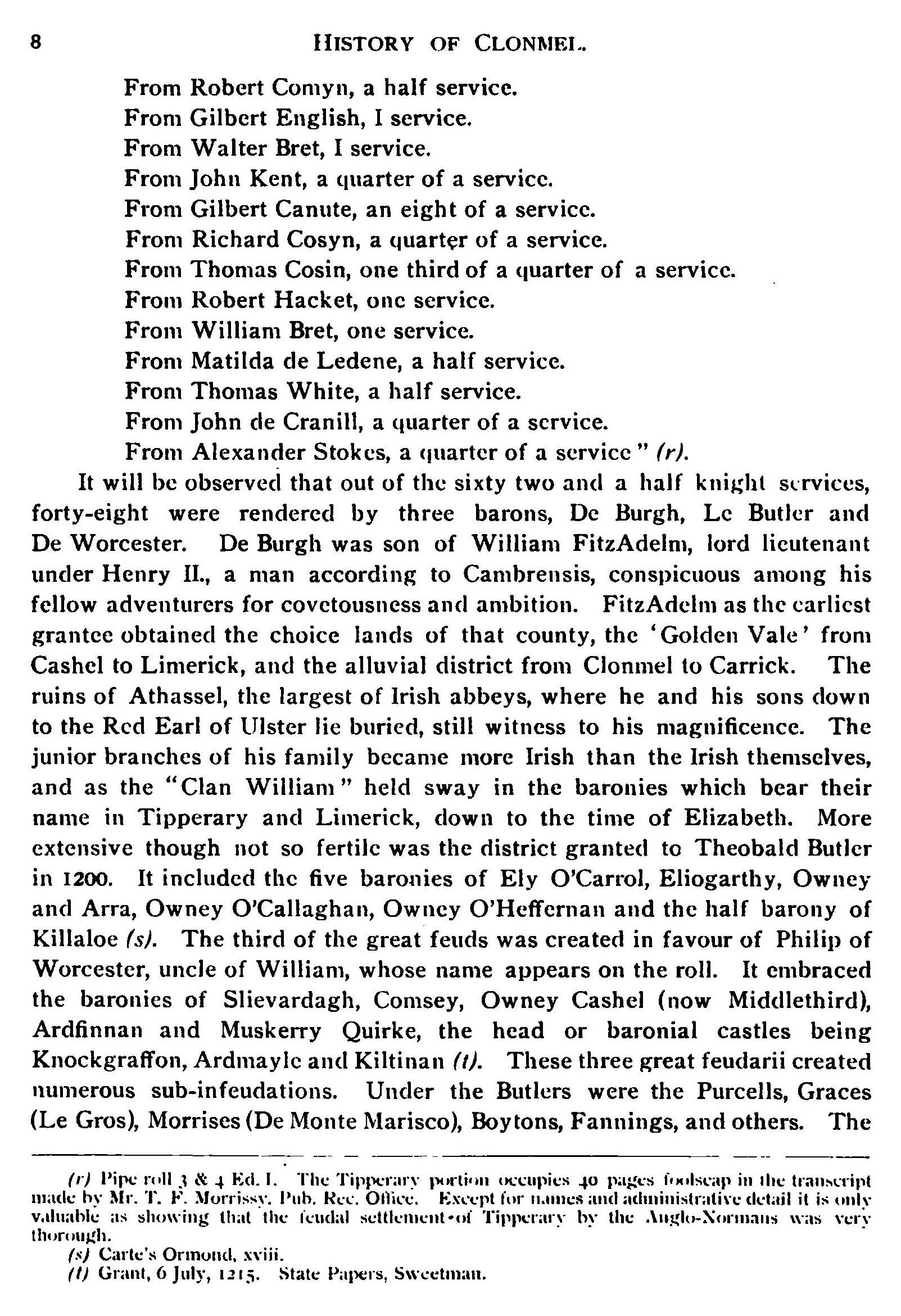 History of Clonmel page 8cropped