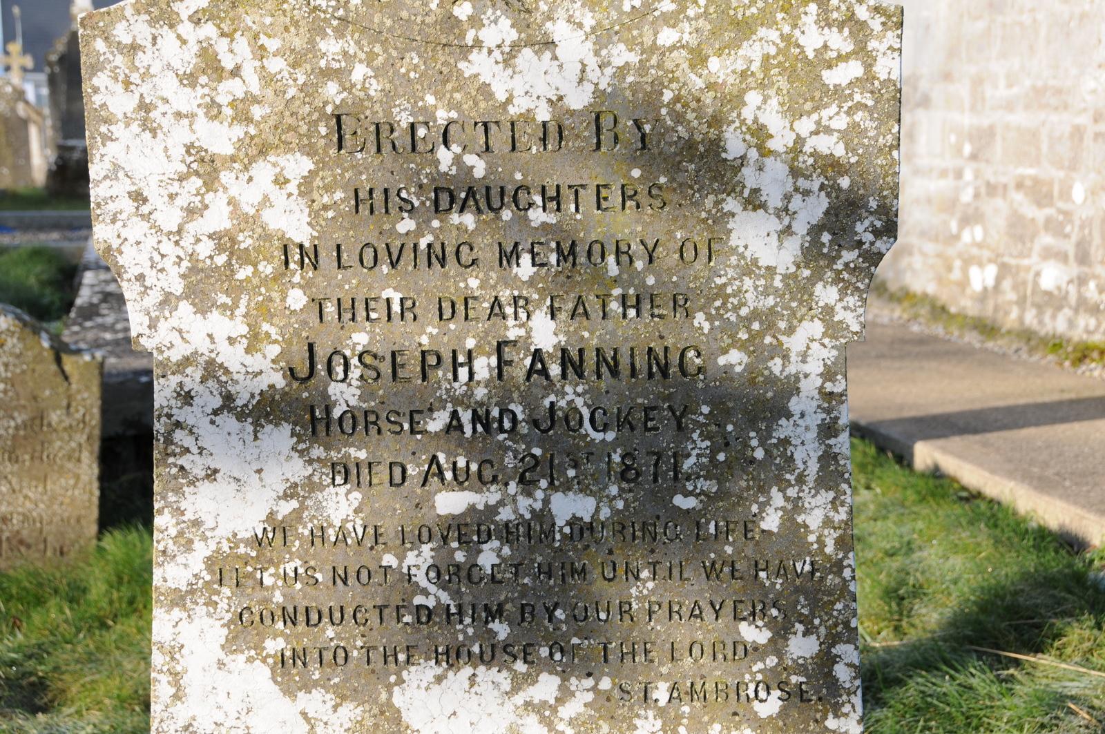 Holycross C of I Joseph Fanning Horse & Jockey