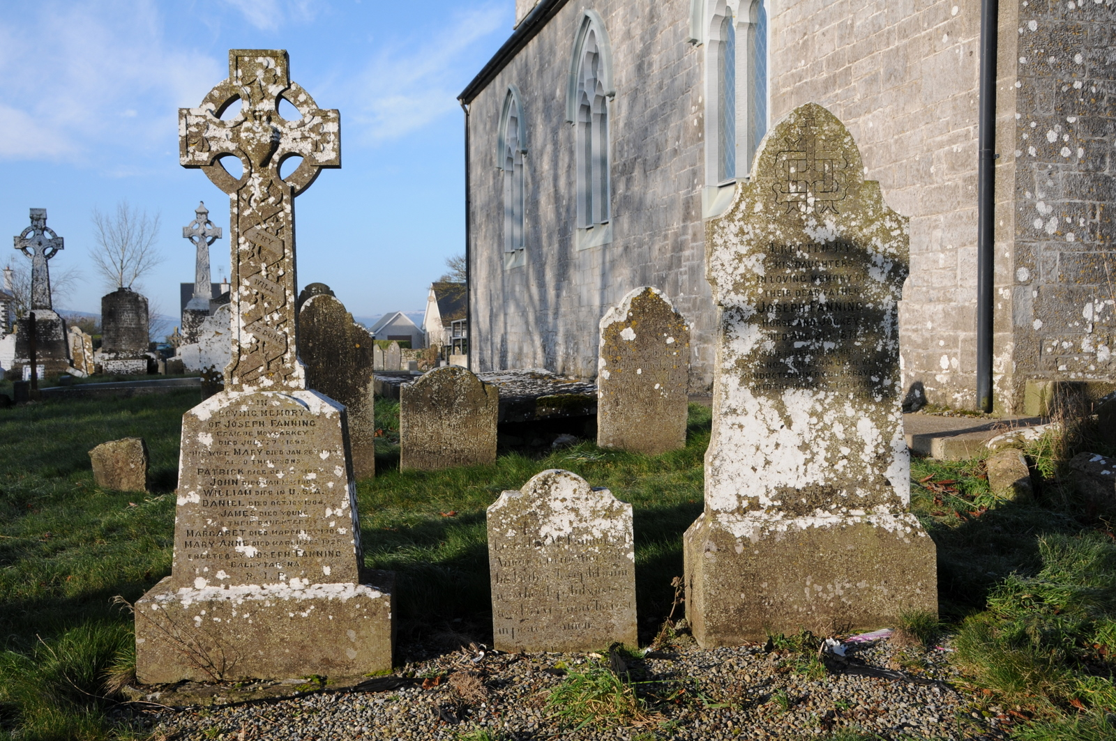 Holycross C of I Three Fanning Graves