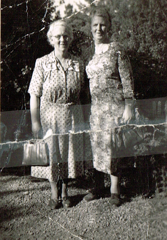 Ida Fanning and Aunty Mary Breen nee Mackey (2)