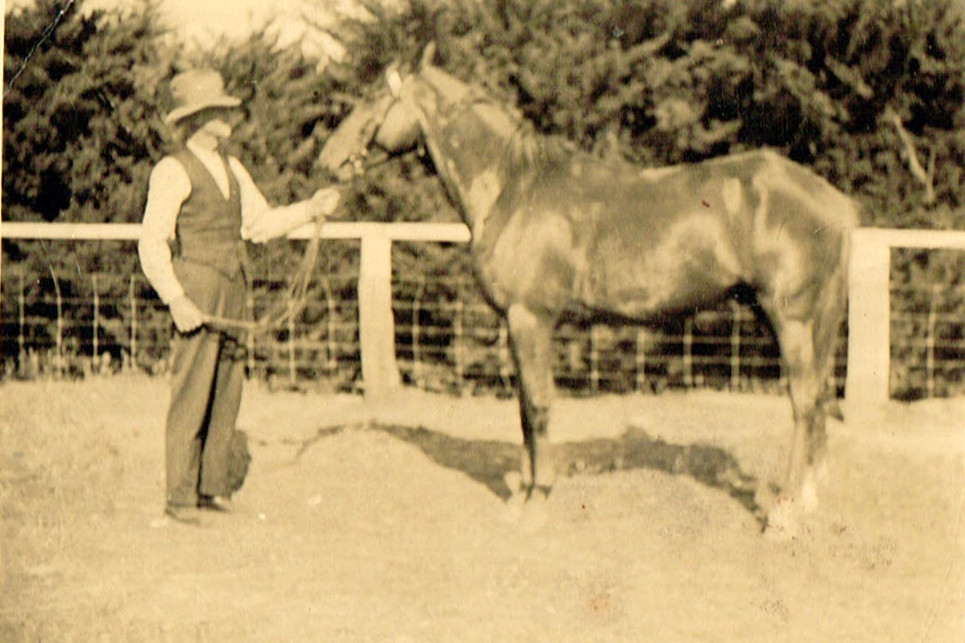 Jack Fanning Kilmore with horse