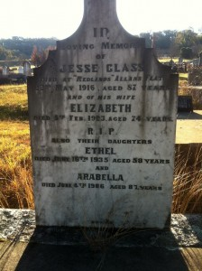 Jesse Glass and Elizabeth,Arabella and Ethel Glass (1)