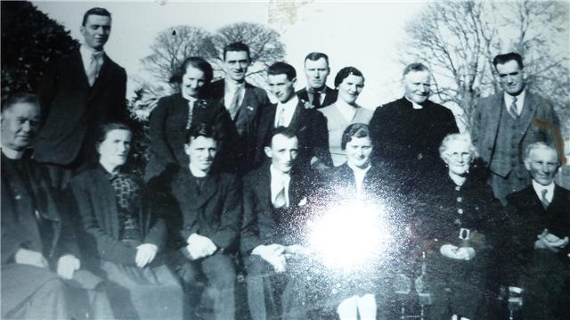 Joan Fanning and Denis O'Sullivan's wedding