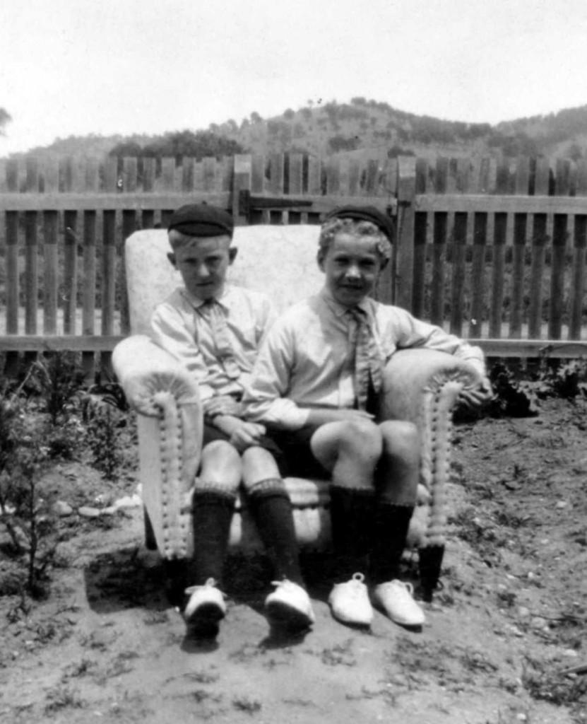 Joe & Bernard Glass 1930 (2)