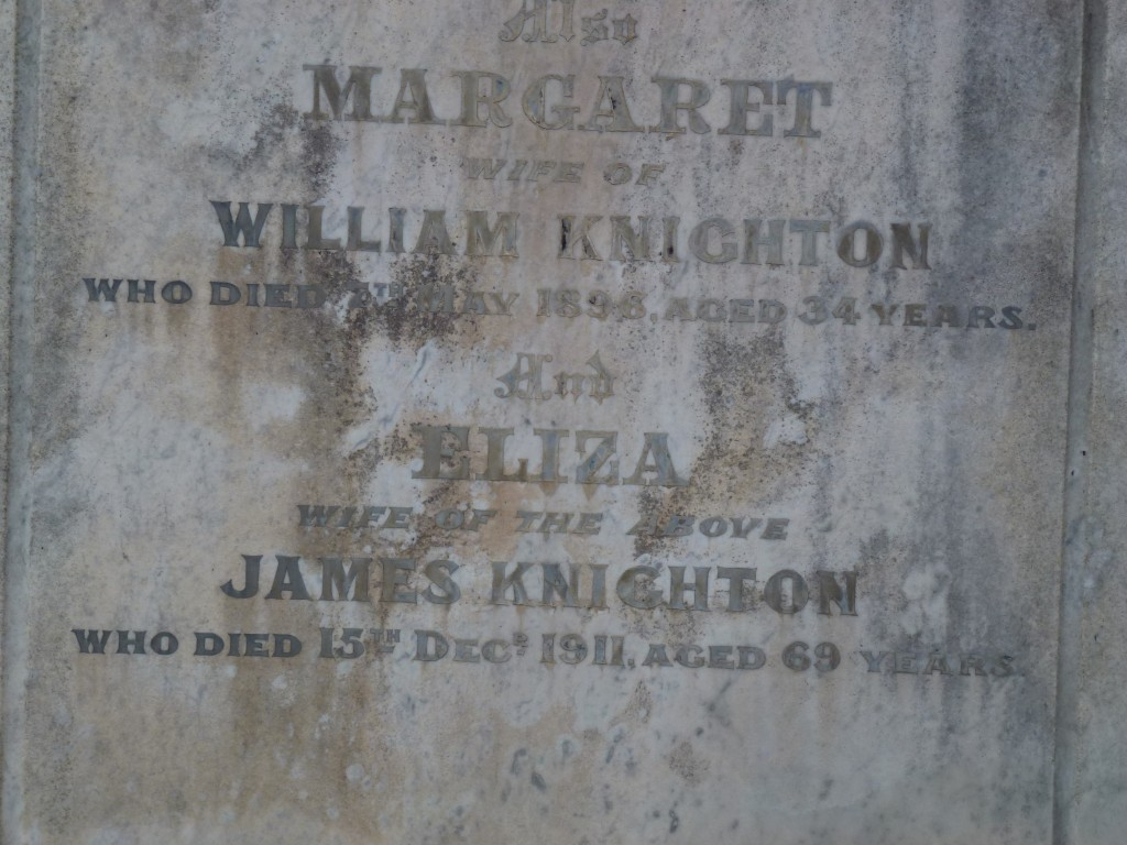 Knighton Grave Boroondara Close Up (2)