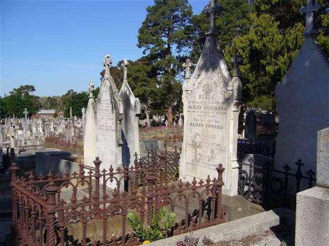 Knighton Graves Boroondara Cemetery