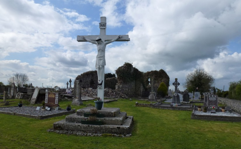 Fanning Gravestones in Littleton Cemetery Co Tipperary Ireland