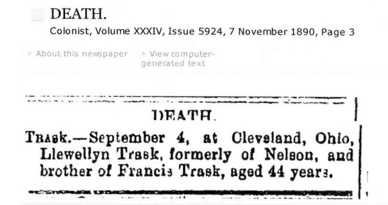 Llewellyn Trask Death Notice NZ_0003