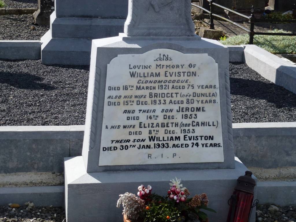Loughmore Cemetery Eviston Graves Co Tipperary Ireland
