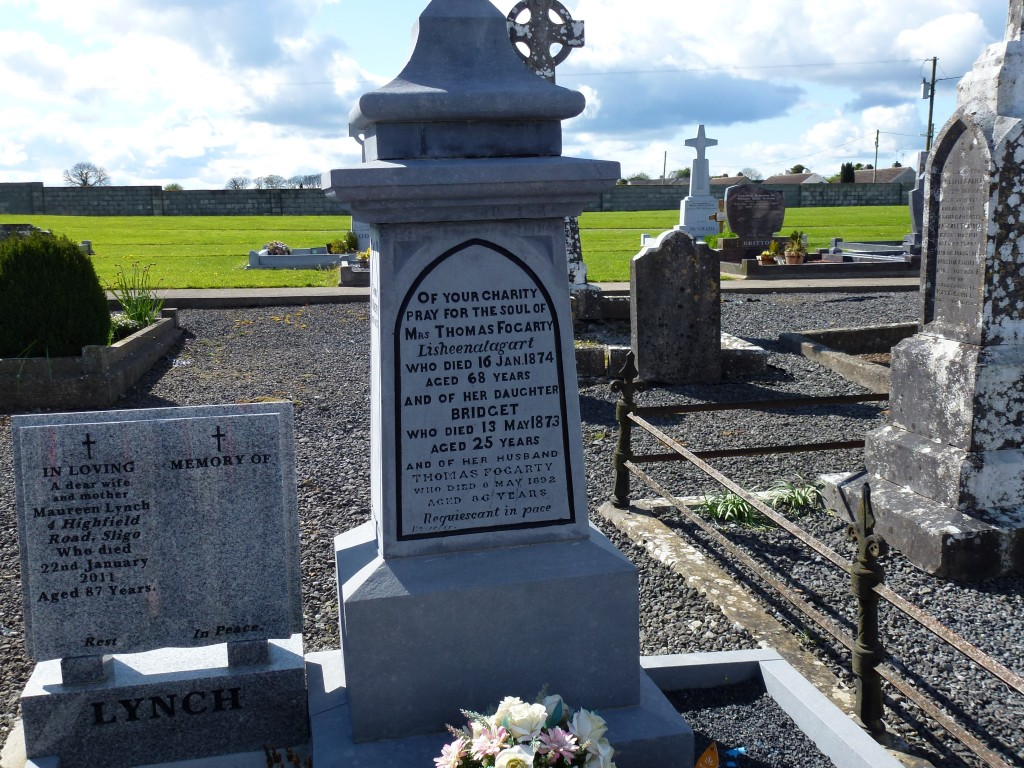 Loughmore Cemetery Fogarty of Lisheenataggert Co Tipperary Ireland