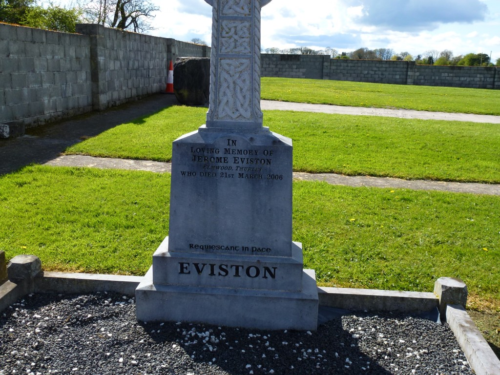 Loughmore Cemetery Jerome Eviston Co Tipperary Ireland