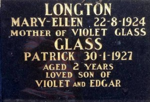 Mary Ellen Longton and Patrick Glass