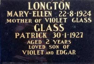 Mary Ellen Longton and Patrick Glass