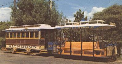 Melbourne's First Cable Car