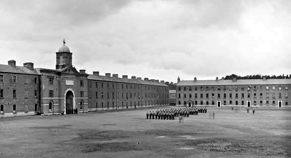 Military Barracks Templemore c1865-1914CR