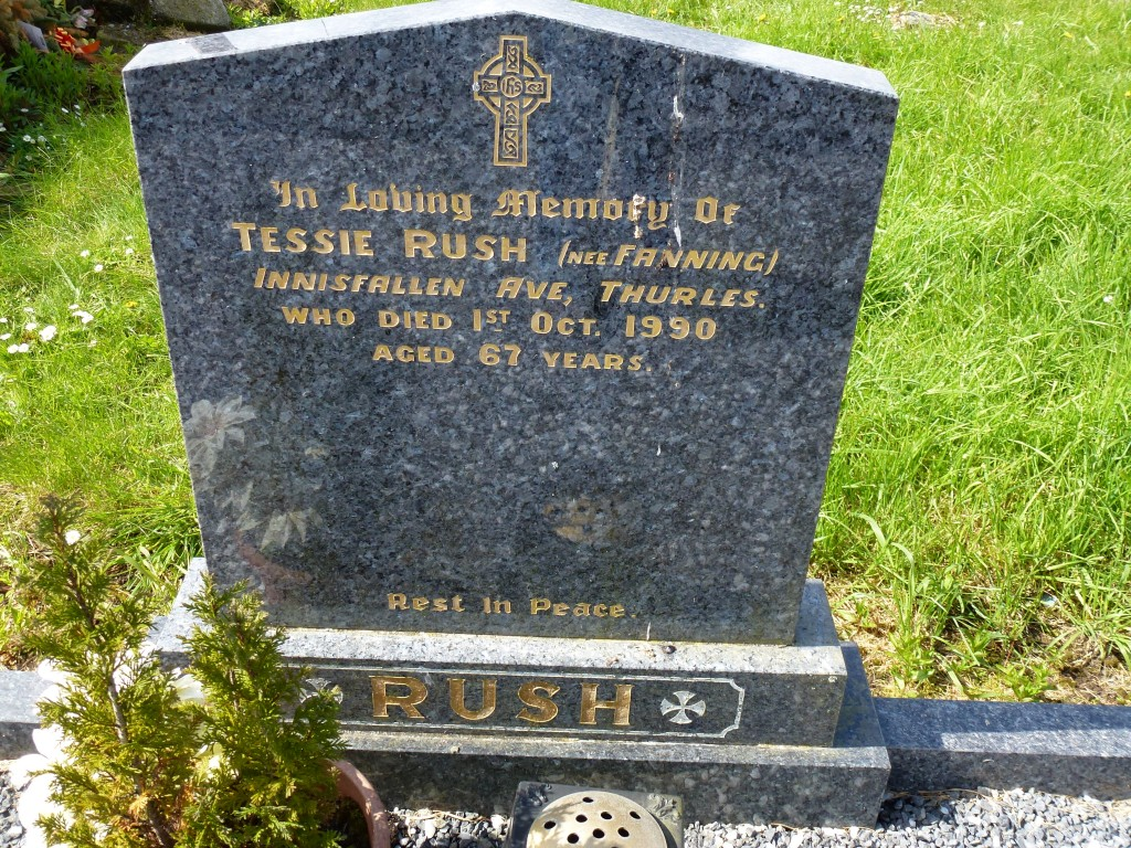Moycarky Old Cemetery Fanning-Rush of Thurles Co Tipperary Ireland