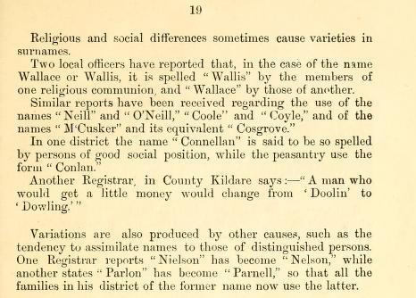 Name Variations Ireland p19