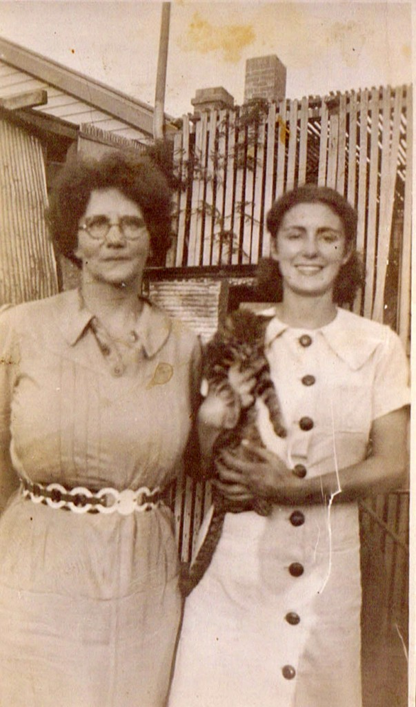 Nana and Mum