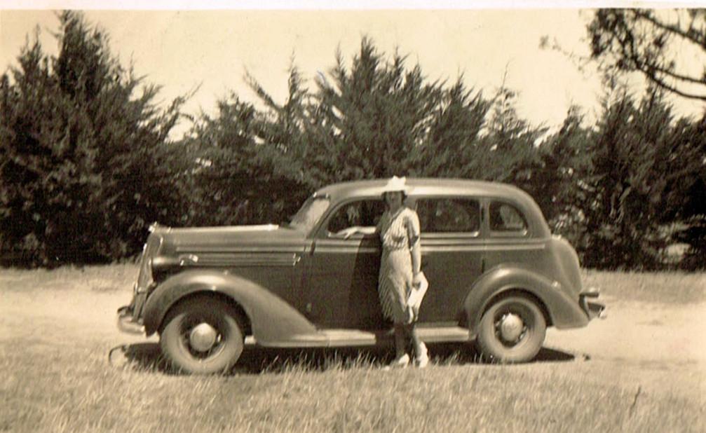 Nance Fanning nee Kelleher at Sunnyside Bulla