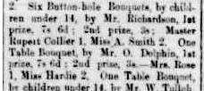 Rupert Collier Wins Prize 1888 9 Nov Portland Guardian