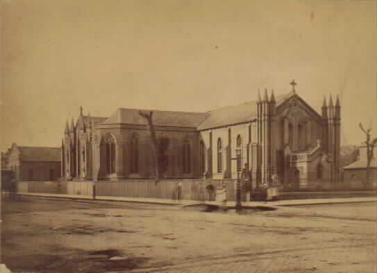 St Francis' Church Melbourne 1861