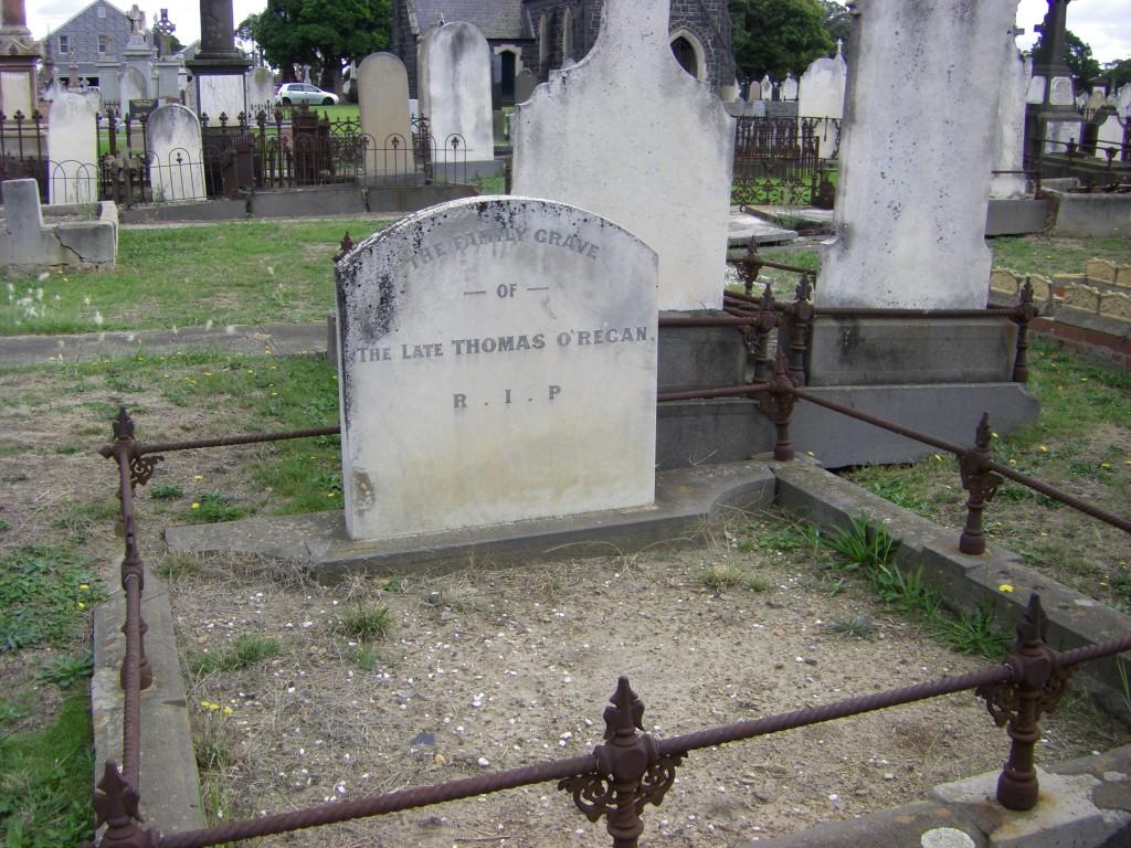 Thomas O'Regan Melb Cemetery