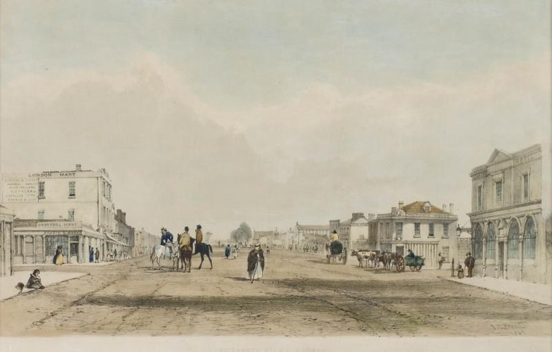 Life in Melbourne Victoria Australia 1841-1852