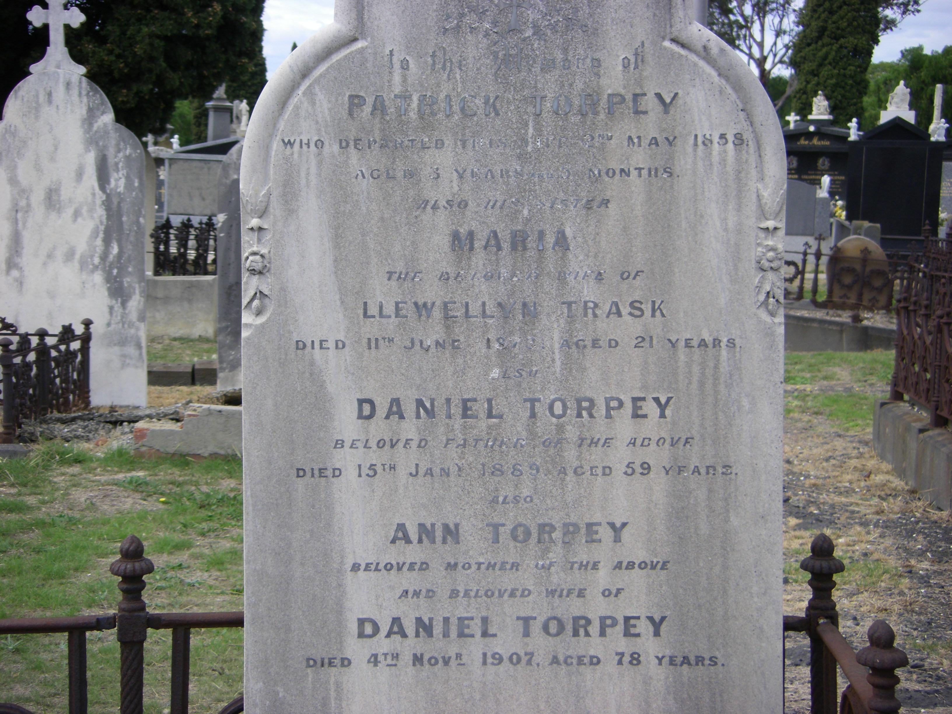 Torpey Graves Melb Cem