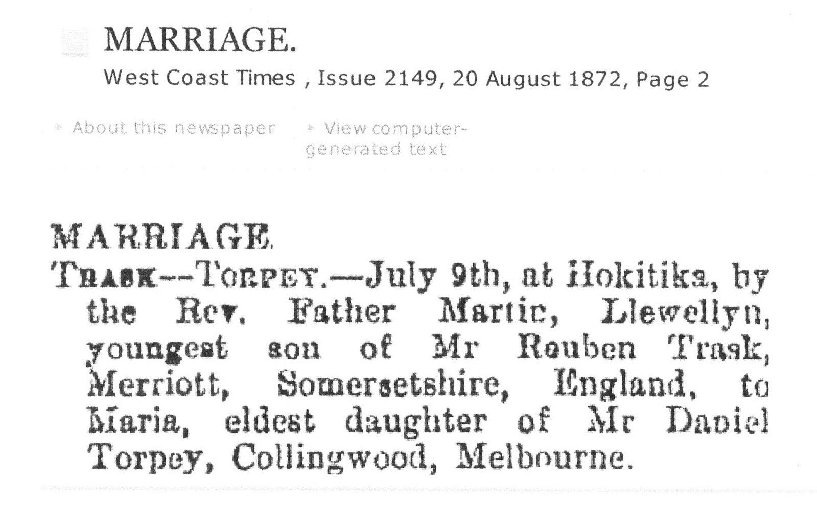 Torpey Marriage W Coast Times _0002